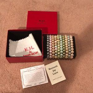 New Kenneth Jay Lane Bracelet Set